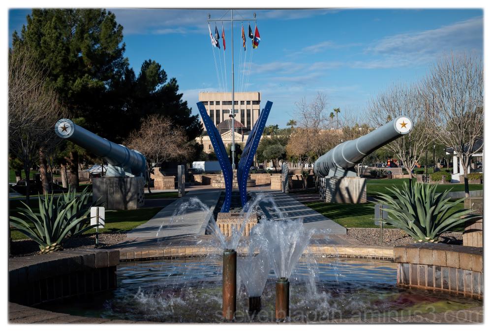 The Arizona State Capitol in Phoenix, Arizona.