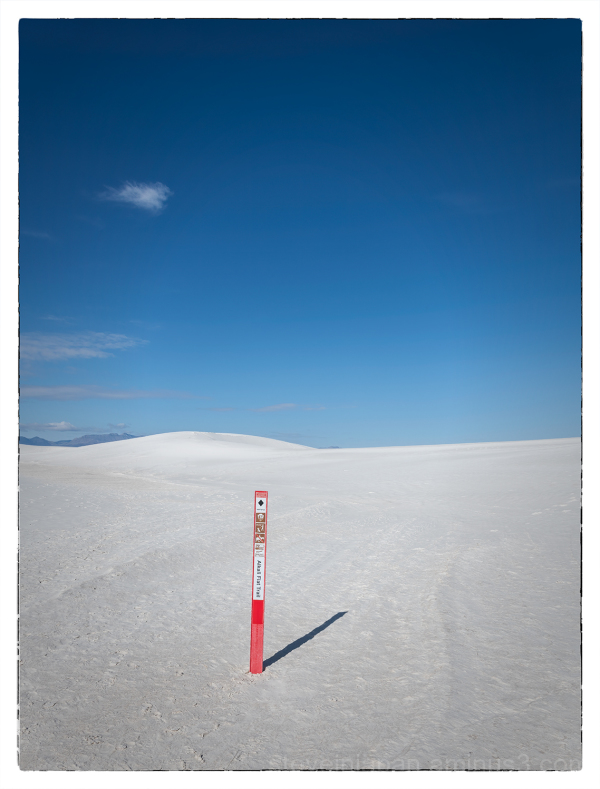 White Sands National Park in New Mexico, USA.