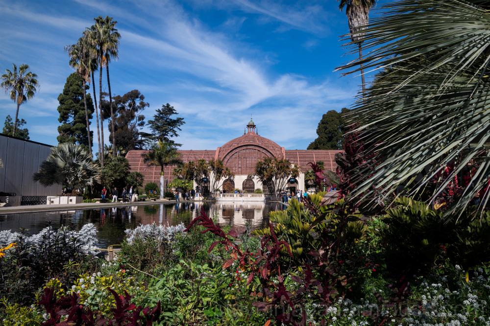 Balboa Park in San Diego, CA, USA.