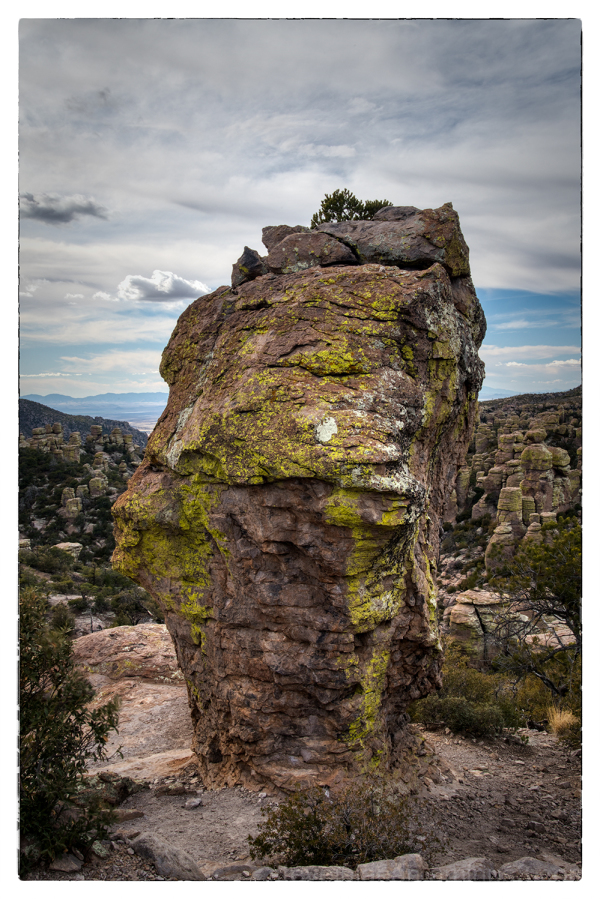 Chiricahua National Monument in Arizona, USA.