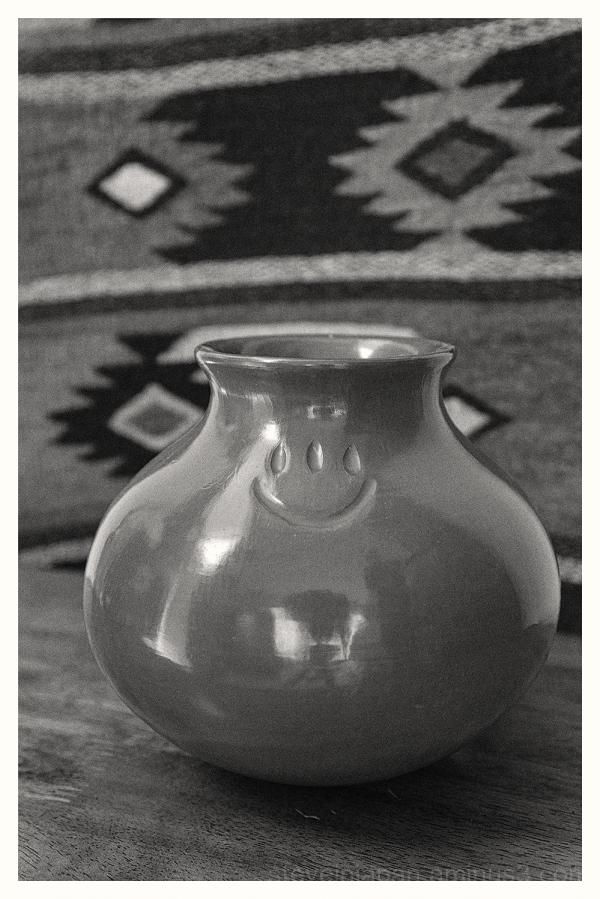 Pottery from Santa Clara Pueblo.