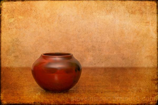 Navajo pottery.