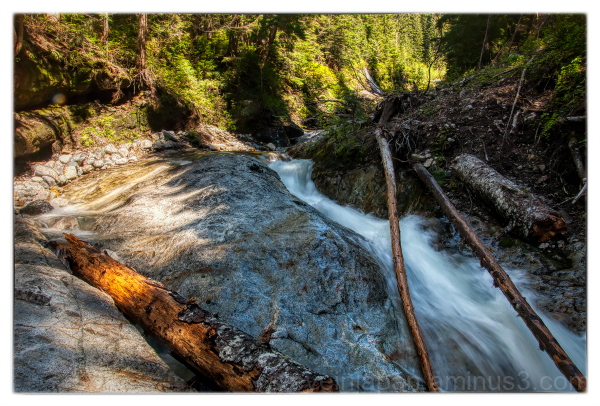 Denny Creek in the Cascade Range of Washington.