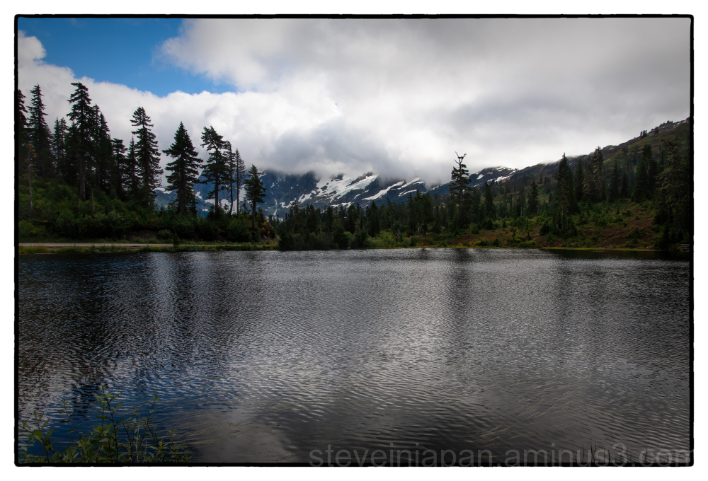 Picture Lake in the North Cascades of WA.