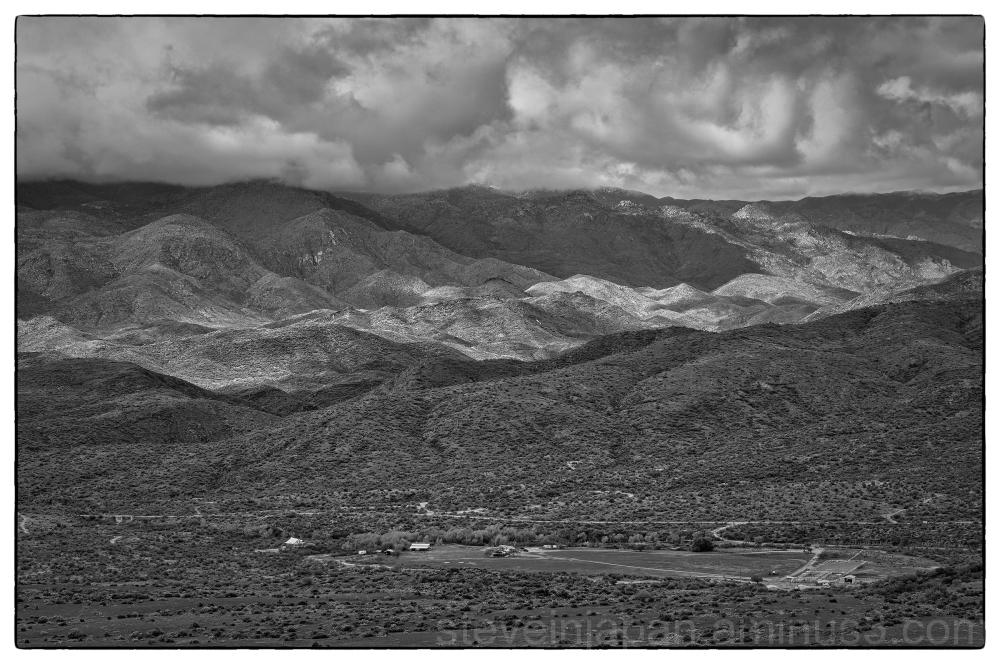 A big valley near Sedona, AZ.