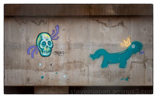 Graffiti in Sedona, AZ.