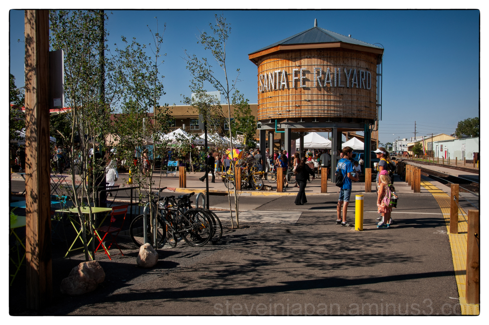 Street shots from Santa Fe, New Mexico.