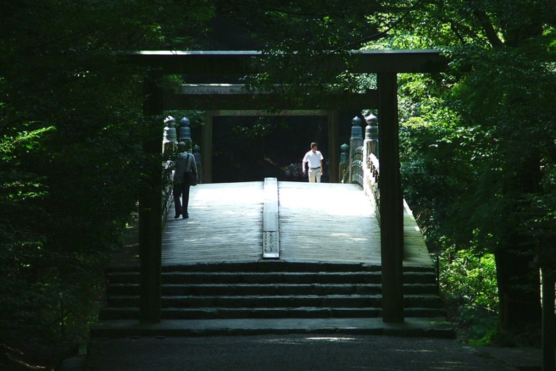 Ise shrine, Mie Prefecture