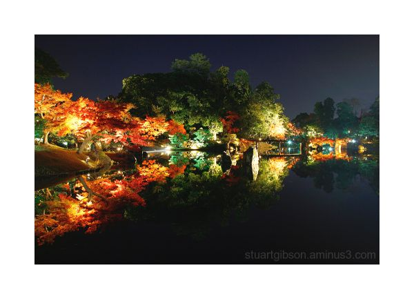 Genkyuen by night I