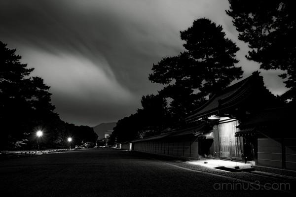 京都の御所 - The Emperor's Palace, Kyoto