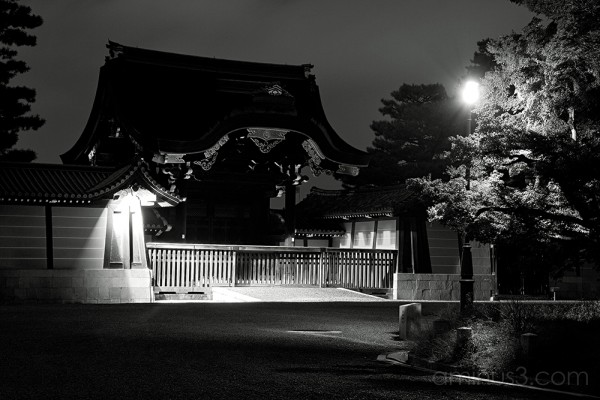 京都の御所 - The Emperor's Palace, Kyoto 3/3