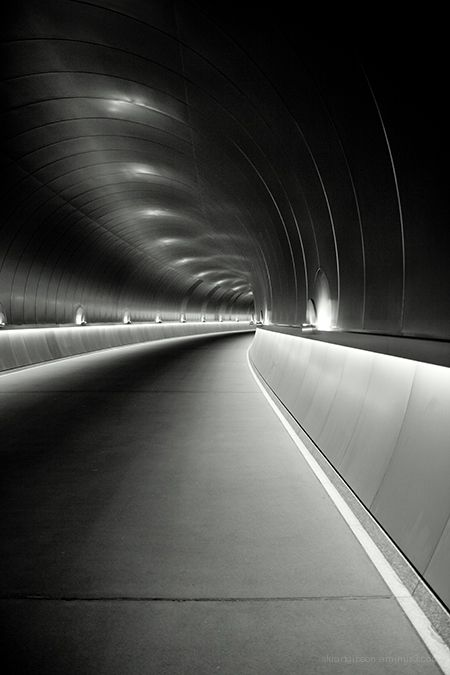 The tunnel to the Miho museum