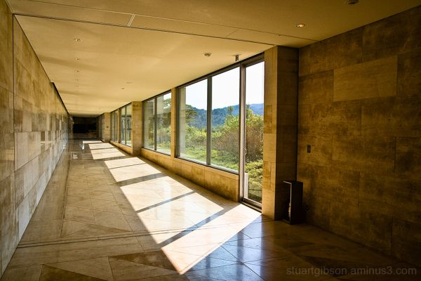 Miho Museum: Corridors of Power