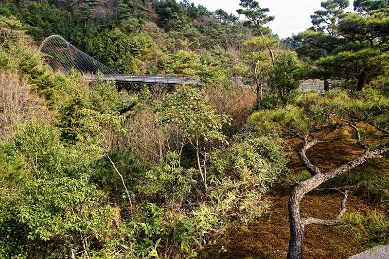 Miho Museum: Inconspicuous