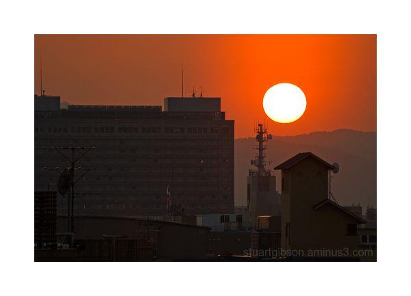 Sundown on Kyoto