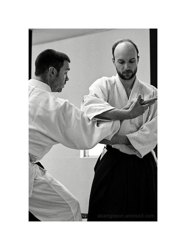 Aikido   先輩 (senpai)