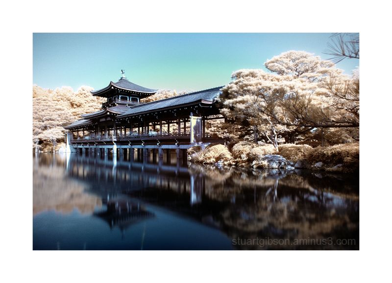 Heian Shrine 平安神宮, infrared 赤外線