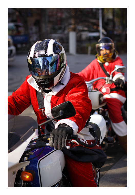 """Rudolph was knackered!"", Santa said..."