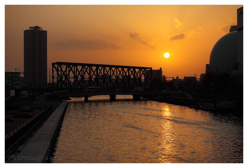 sundown, Osaka