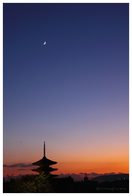 moon over yasaka
