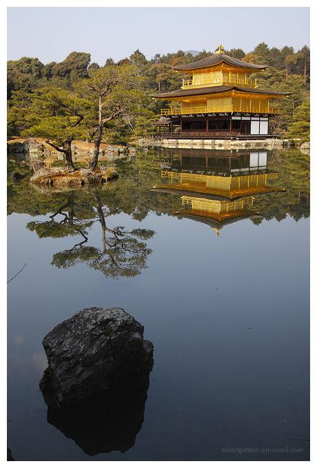 The Golden Pavilion - 金閣寺
