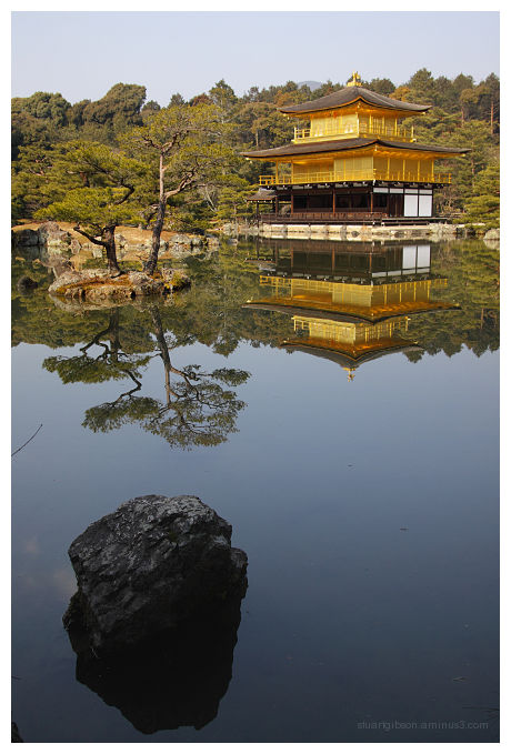 The Golden Pavilion - 金閣寺