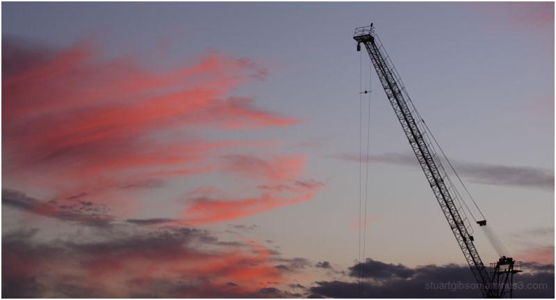 sunset & steel
