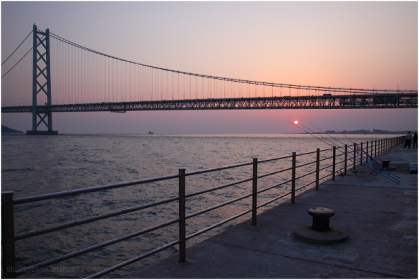 The Golden Hour, Akashi Bridge