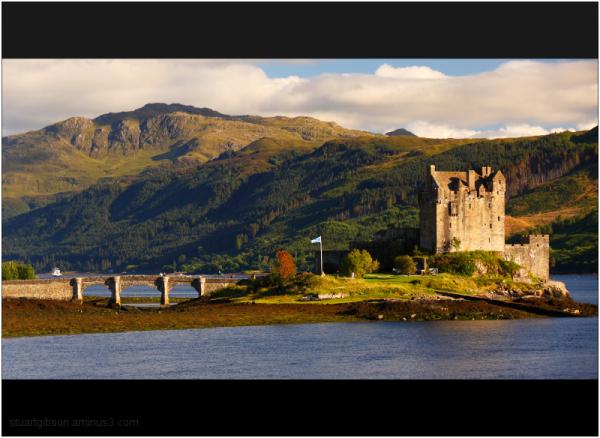 Golden hour - Eilean Donan Castle