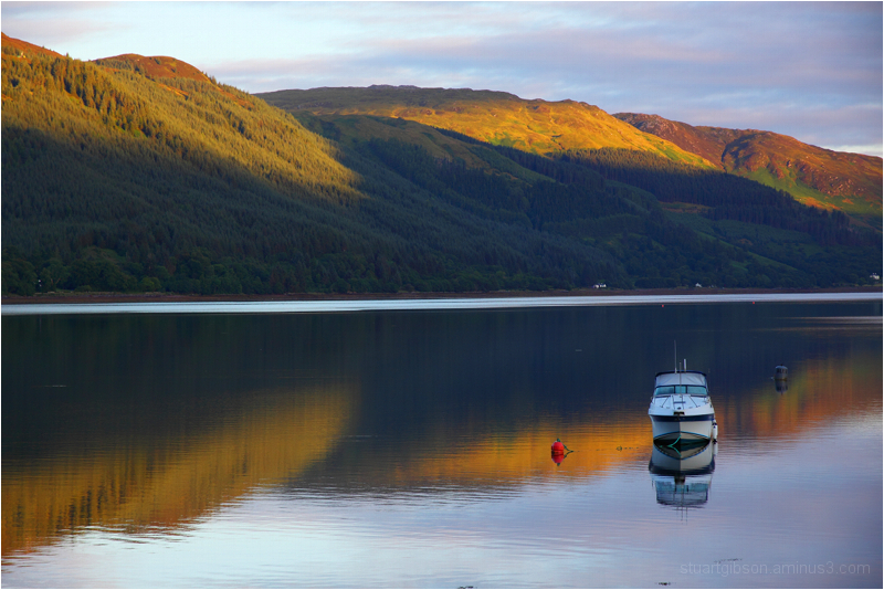 Dawn, the Kyle of Lochalsh