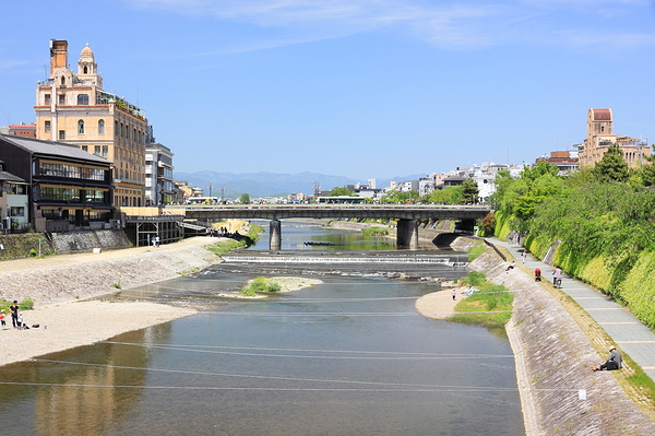 The Kamogawa (鴨川), Kyoto