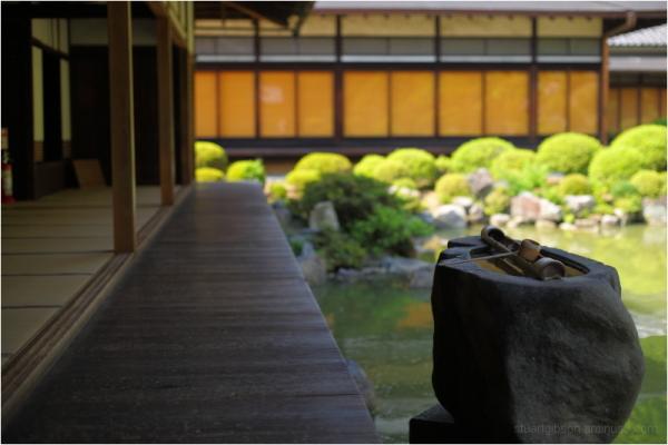 hishyaku (ひしゃく), at Chishaku-in - 智積院