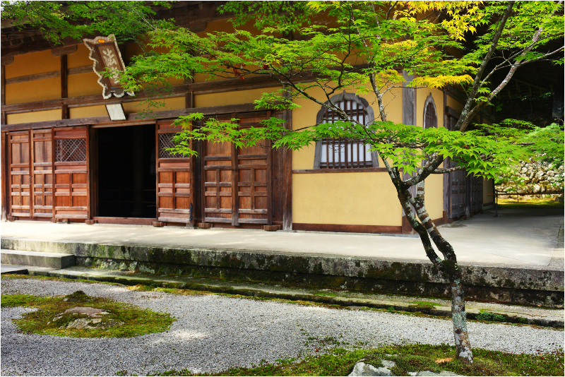 at Eigenji - 永源寺