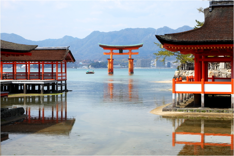 High tide - Itsukushima