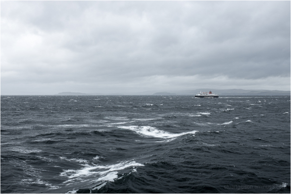 a stormy crossing