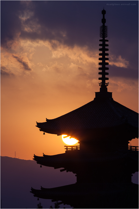 Houkan-ji, at golden-hour