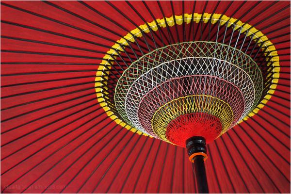 under the parasol
