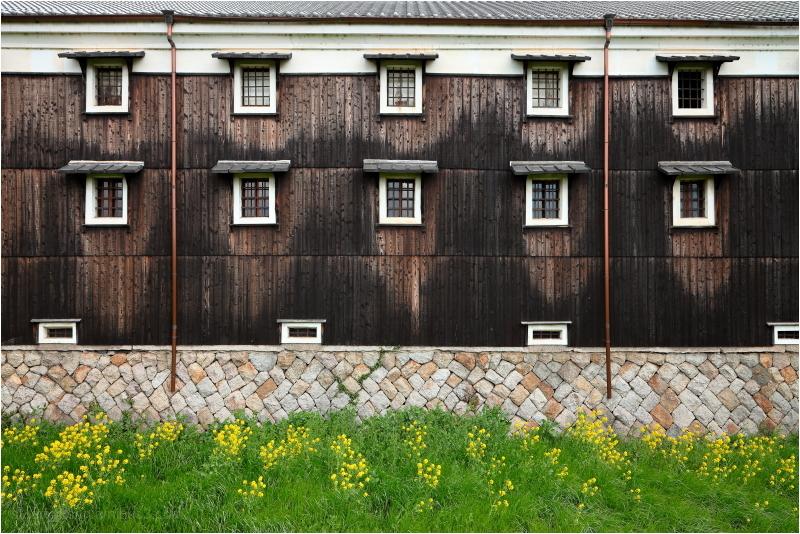 Japanese sake warehouse, Fushimi district