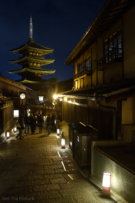 Kyoto, by night
