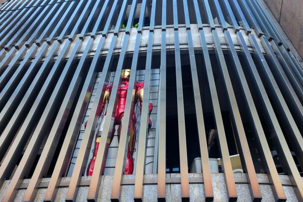 iron man behind bars