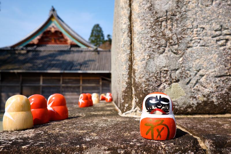 daruma, at Katsuoji