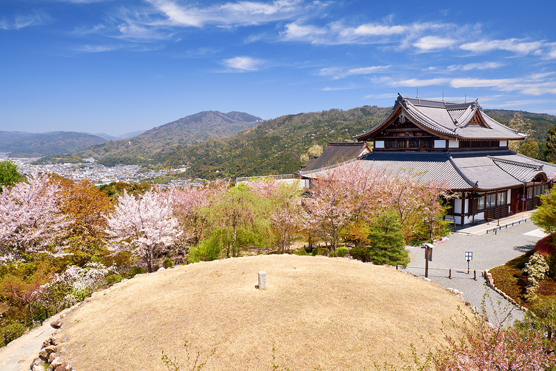 Seiryuden - One of the best places to view Kyoto