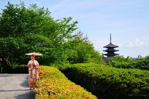 parasol & pagoda