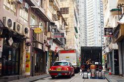 a massage for the draymen - Hong Kong