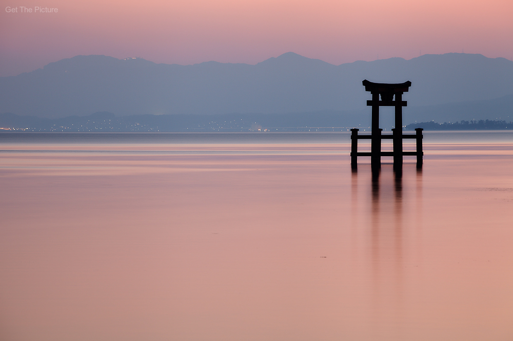 Shirahige Shrine, Lake Biwa