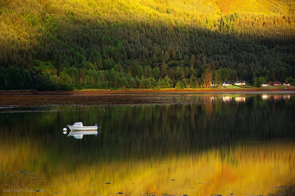 at dawn, Loch Alsh