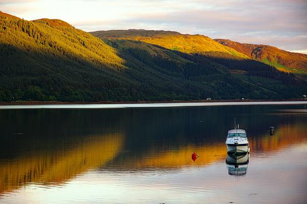 at dawn, Loch Alsh