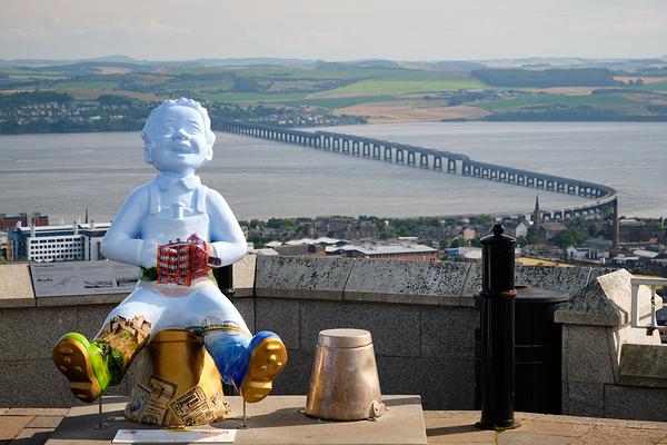 Oor Wullie - Tay Bridge View