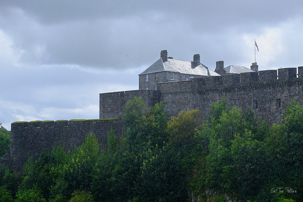 sunshine & showers on Stirling Castle