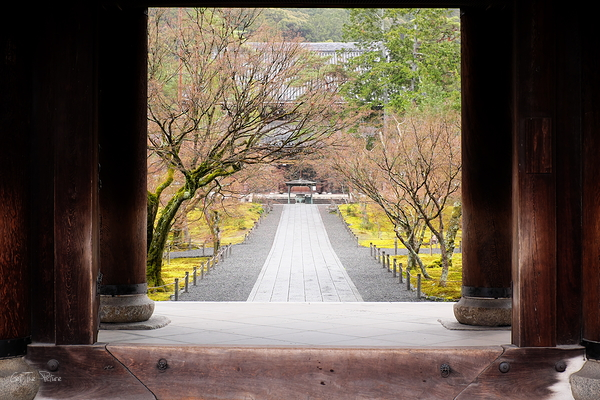 A rare solitude at Nanzenji